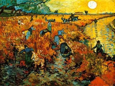 El saber, no ocupa lugar ..CURIOSIDADES Vinedo-rojo-en-Arles-