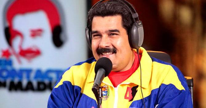 Gobierno de Nicolas Maduro. Maduro1
