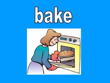 ◄اللغة الانجليزية...... Common Activities Lesson.► Bake