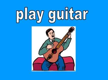 ◄اللغة الانجليزية...... Common Activities Lesson.► Play-guitar