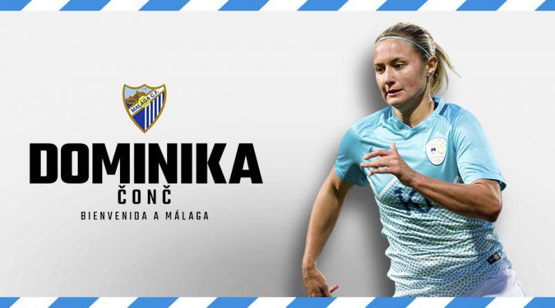 Fichajes del Málaga CF Femenino Dominika-conc-malaga-cf-femenino-800x445