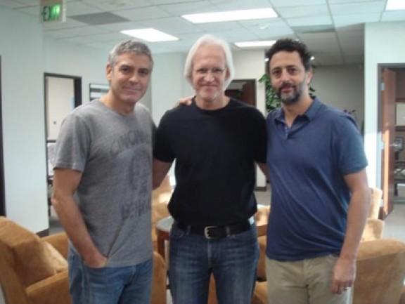 George Clooney George Clooney George Clooney! - Page 20 Clooney-Edsel-y-Heslov-e1344705685971