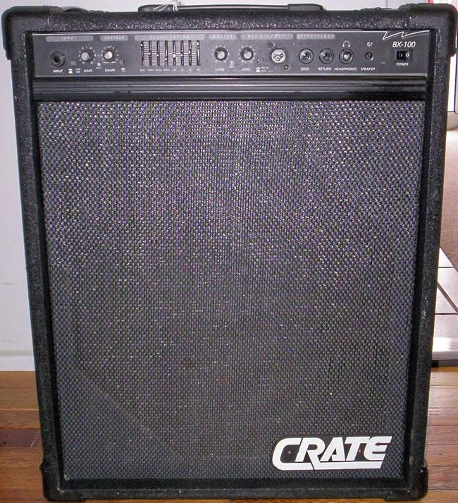 Votre matos' de musicien CrateBX100