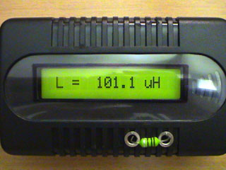 LC Meter com PIC16F628A 100uH