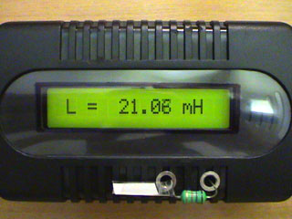 LC Meter com PIC16F628A 18mH