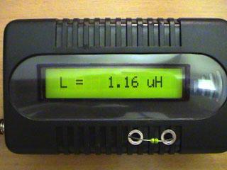LC Meter com PIC16F628A 1uH