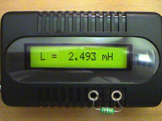 LC Meter com PIC16F628A 2-2mH