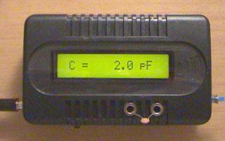 LC Meter com PIC16F628A 2pF
