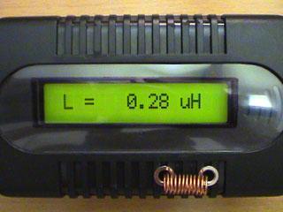LC Meter com PIC16F628A 300nH