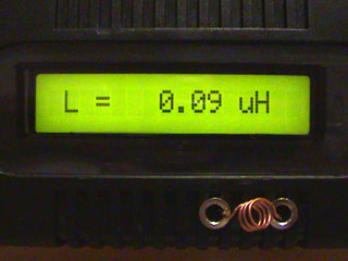 LC Meter com PIC16F628A 90nH