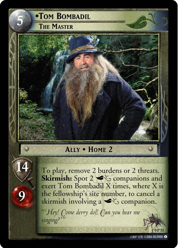 P.O Tolkien y su obra. Decipher_tombombadil