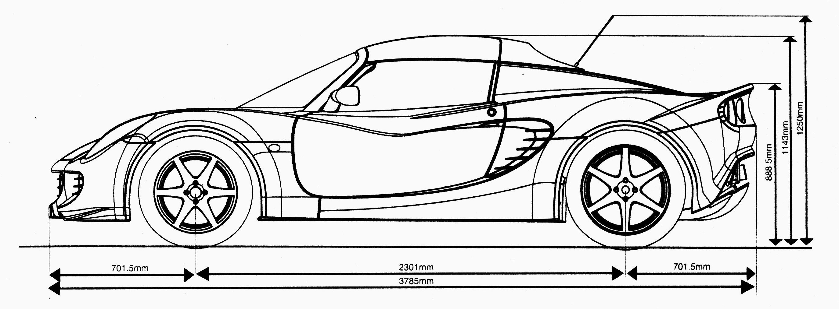 Lotus Elise S Cup  (2015)  - Pagina 2 Outline_side