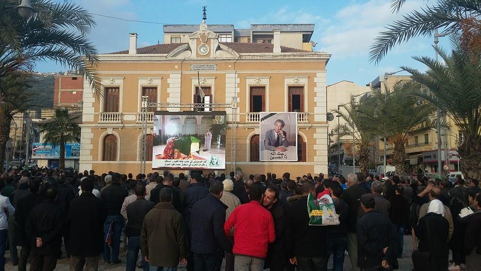 مباشر: جنازة شعبية غير مسبوقة (فيديو وصور)  Tizi98