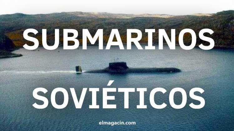 Los submarinos de la flora soviética Submarinos-sovieticos-el-magacin