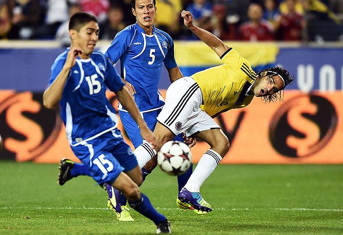 10-10-2014 - Amistoso El Salvador 0 Colombia 3. Was8871653