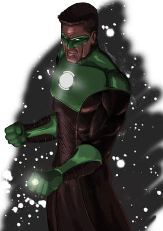 Linterna verde 3057
