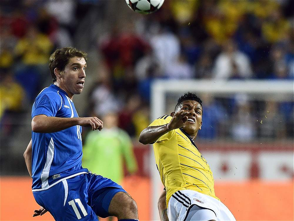 10-10-2014 - Amistoso El Salvador 0 Colombia 3. IMAGEN-14671515-2