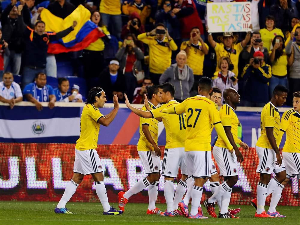 10-10-2014 - Amistoso El Salvador 0 Colombia 3. IMAGEN-14672087-2