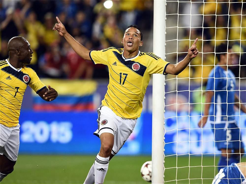 10-10-2014 - Amistoso El Salvador 0 Colombia 3. IMAGEN-14672092-2