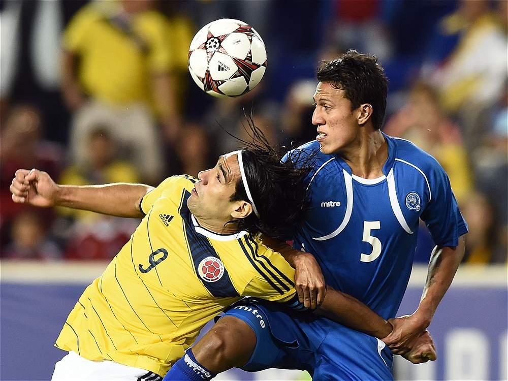 10-10-2014 - Amistoso El Salvador 0 Colombia 3. IMAGEN-14672096-2