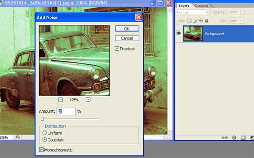 Criando um efeito vintage em fotos no Photoshop Vint09