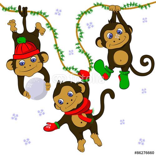 С Новымм годом!!!!) Monkey-111