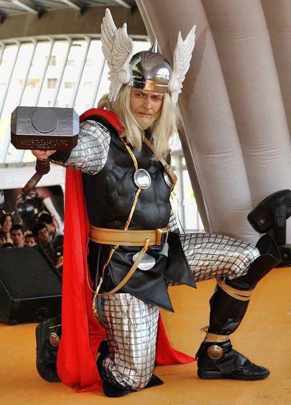Cosplay , disfraces.....Carnavales 2013. Thor
