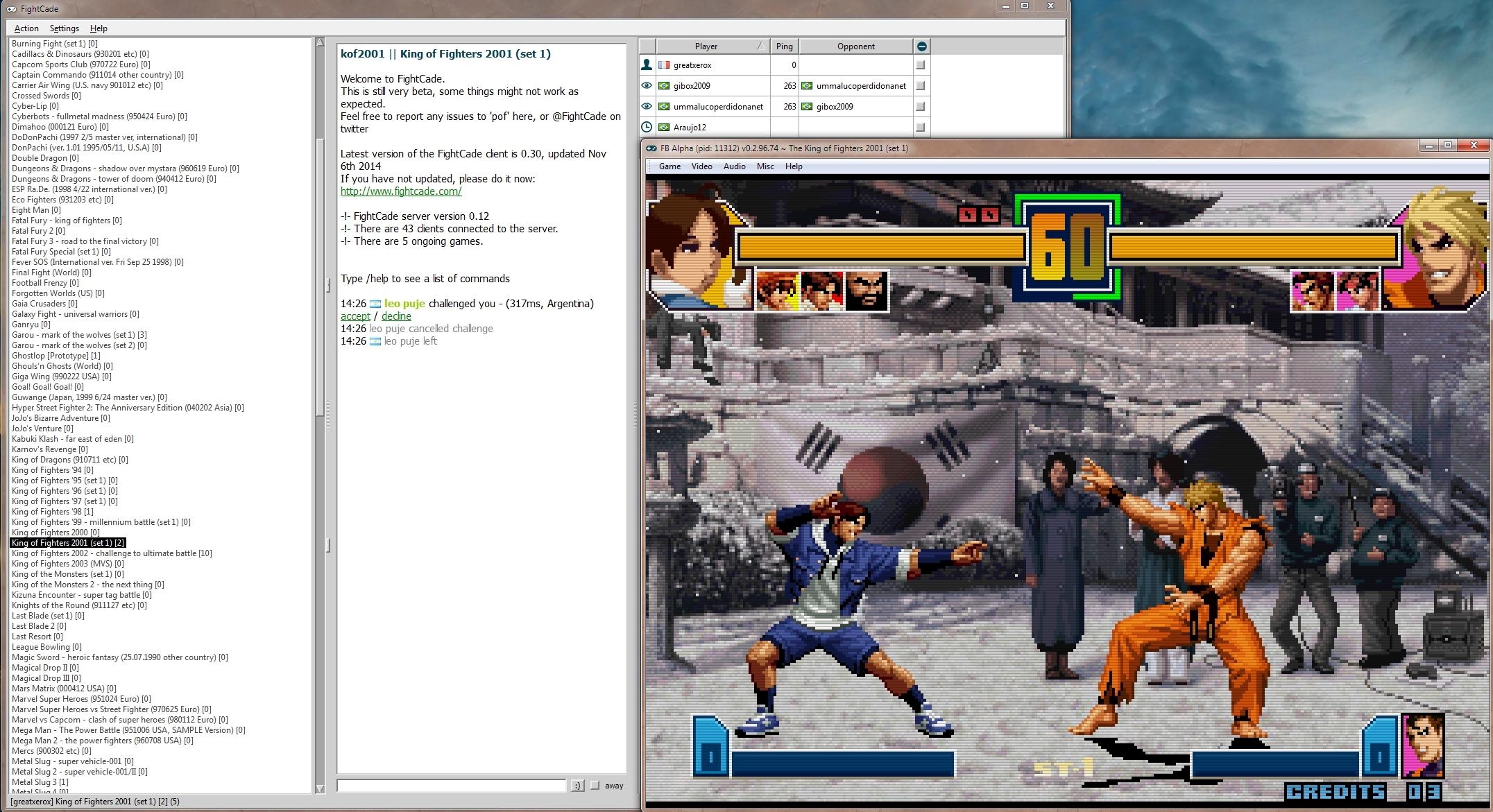 Jouer à des jeux NEOGEO en ligne, simplement, c'est possible ! Fightcade