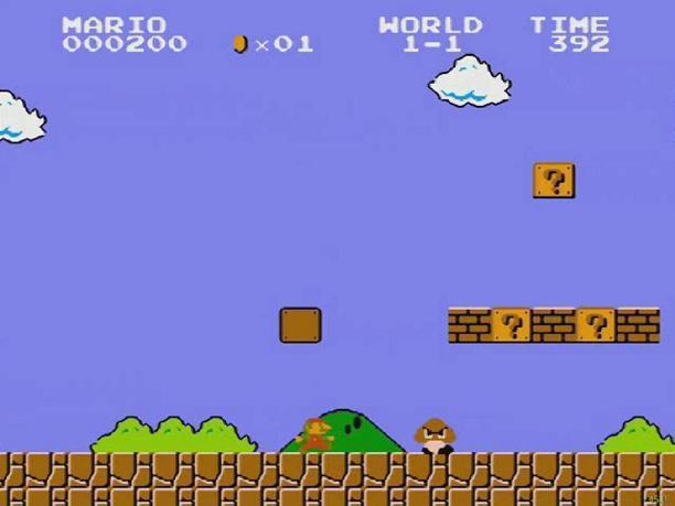 Une chronique sauvage est apparue! - La progression du joueur montré par le personnage MarioBros01