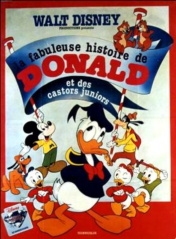 [Walt Disney Animation Studios] La Fabuleuse Histoire de Donald et des Castors Juniors (1975) En16642