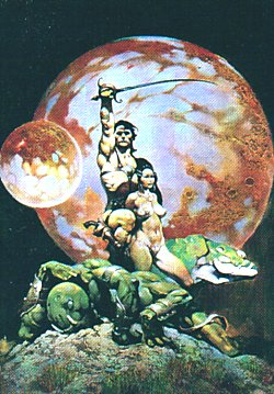 Renato Casaro's poster influence? Frazetta1set