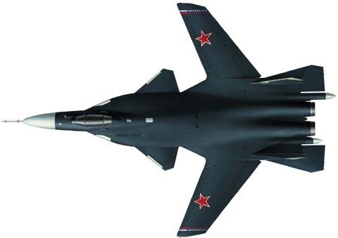 سوخوي سو-47 Su-47 Berkut Golden Eagle S37_2092
