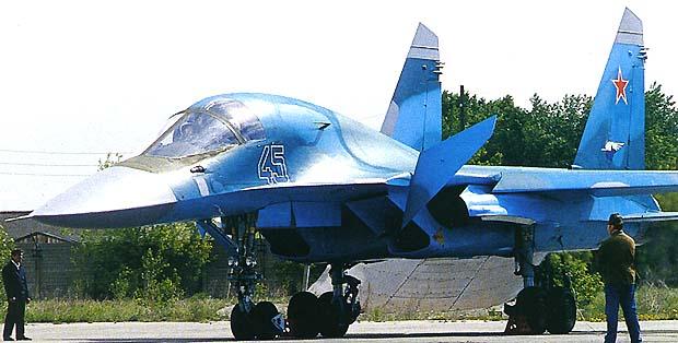 قاذفة القنابل / SU-34   Su34_2