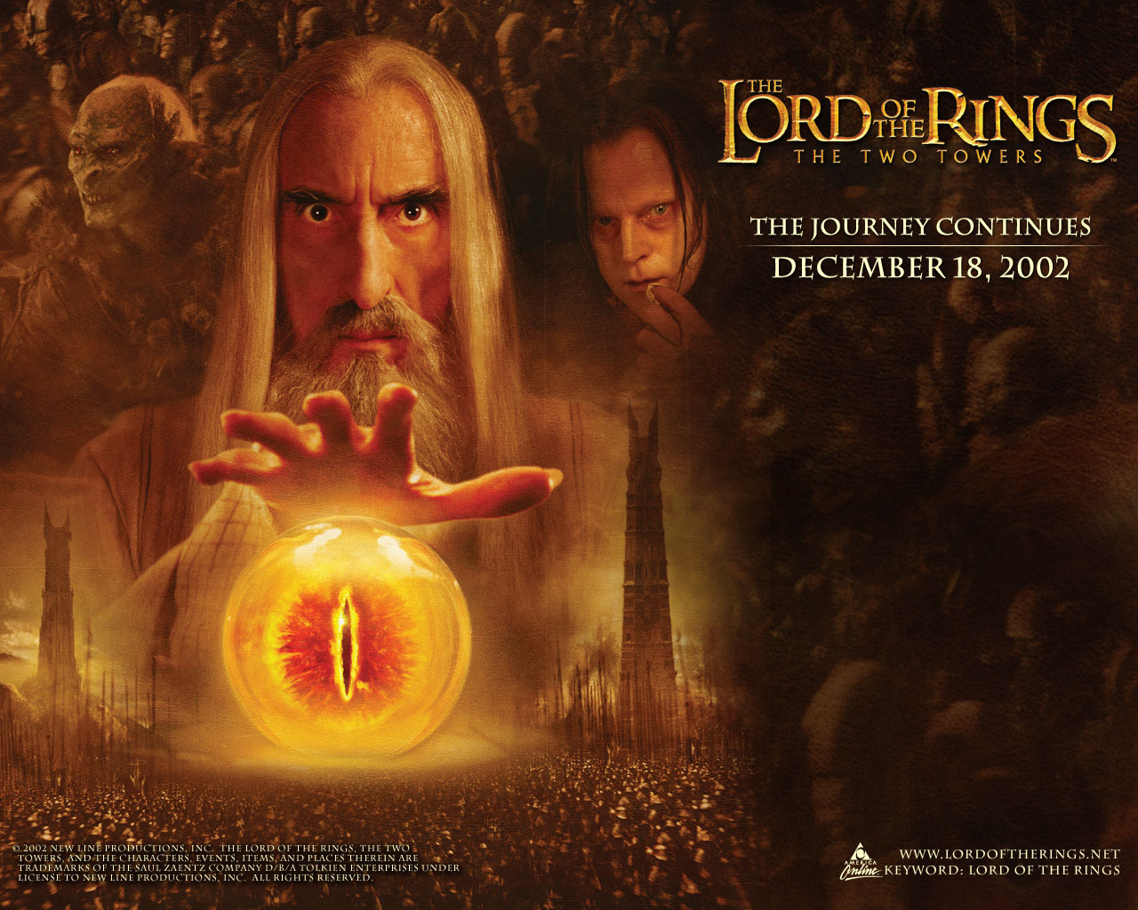 The Lord Of The Rings/Flat Earth Connection   Saruman-Two-Towers