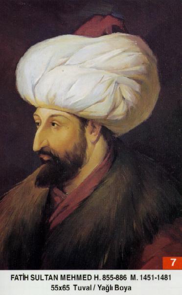 II.Mehmed (Fatih Sultan Mehmed) Pad3
