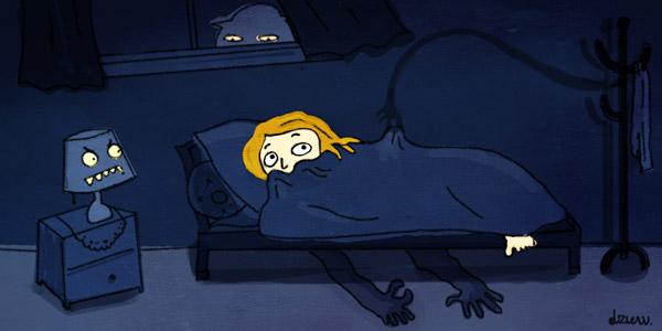 Les cauchemars et mauvais rêves peuvent-ils provenir des démons ? - Page 4 Nachtmerries