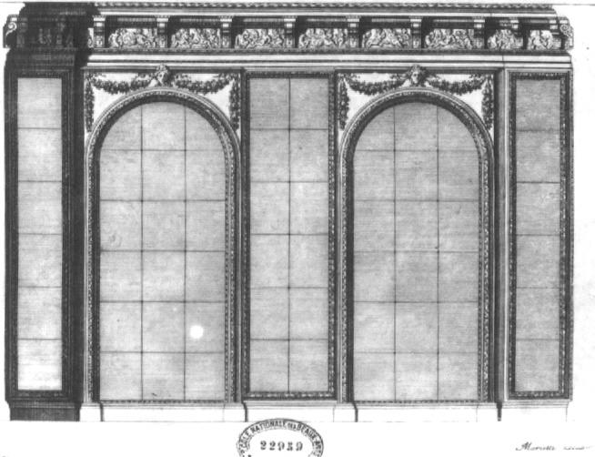 """Beaux-Arts de Paris, expo : """"Hôtels particuliers à Paris"""" Est02031-15196"""