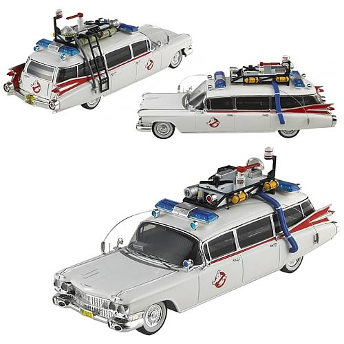 ECTO 1 elite HOT WHEELS 1:43 MTW1194lg