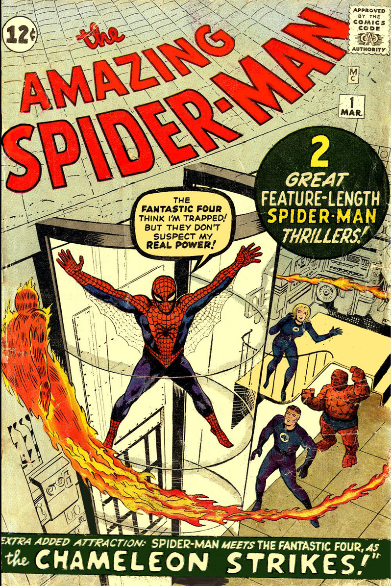 [Comics] Plagios , Homenajes o similes... ASM001cover