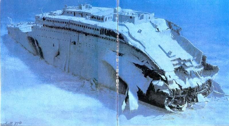 صور لم ولن تشاهدها الا هنا صور لتايتانيك السفينه العجيبه التي غرقت في اول رحلاتها Roncs_2