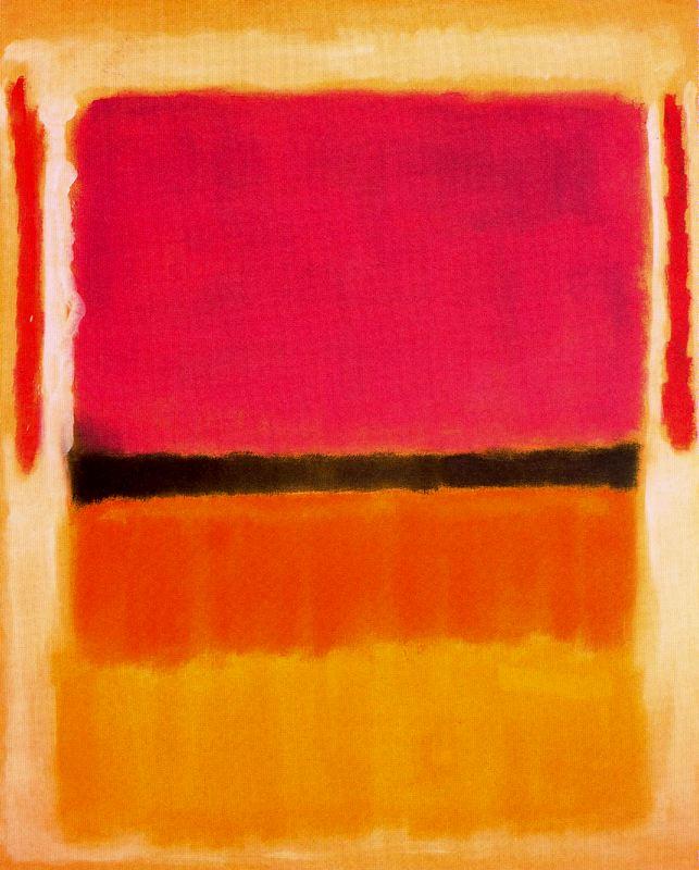 Un peu de peinture Rothko1