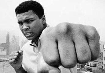 RIP Muhammad Ali Fist