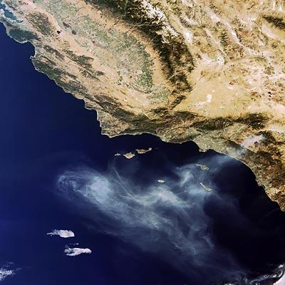 La Terre vue de l'Espace CaliforniaFires_MER_FR_Orbit24358_20061027_L
