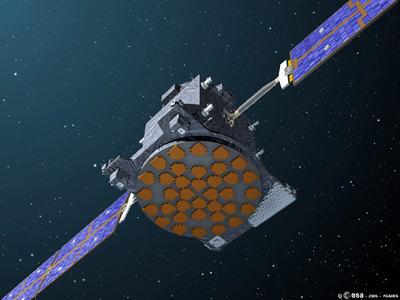 Les premiers satellites du système Galileo baptisés : GIOVE GSTBV2A_LR_03_L