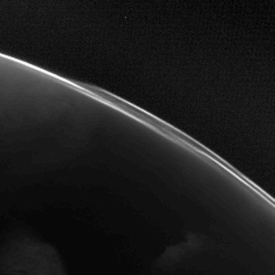 Rosetta : survol de Mars (25/02/2007) Mars_green_red_ratio3_L