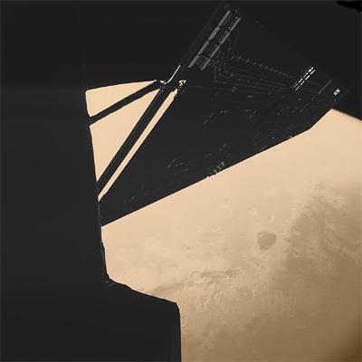 Rosetta : survol de Mars (25/02/2007) Mars_philae_L