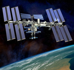 """ISS Live Feed: """"Looked Like A MOON"""" - Mysterious Lights SOAR Through SC and TX Skies! International_Space_Station_ISS_medium"""