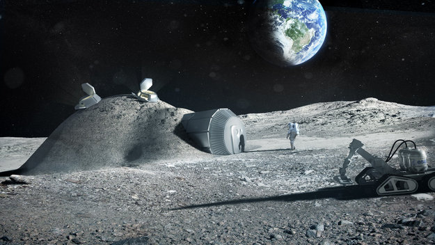 Projet ESA - Impression 3D sur la lune Lunar_base_made_with_3D_printing_large