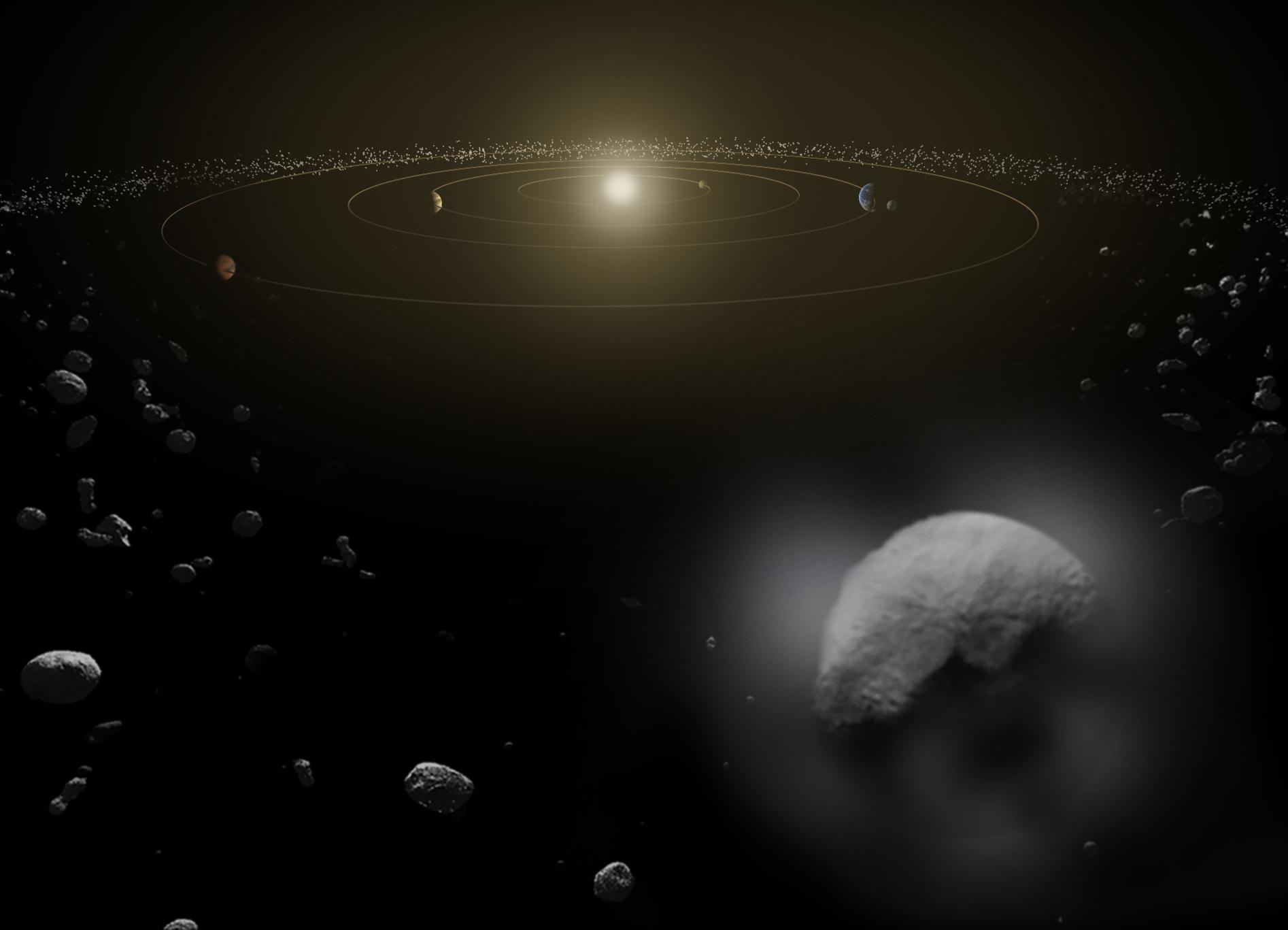 La Nasa a détecté deux points lumineux sur une planète Artist_s_impression_of_Ceres