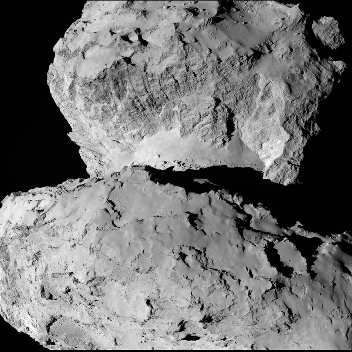 Rosetta : Mission autour de la comète 67P/Churyumov-Gerasimenko  - Page 3 Comet_on_7_August_a_node_full_image_2